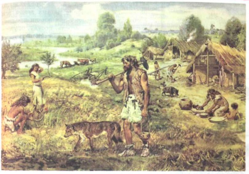 § 16. Освоение земли человеком - Домогацких. 7 класс 1 часть. Рабочая тетрадь