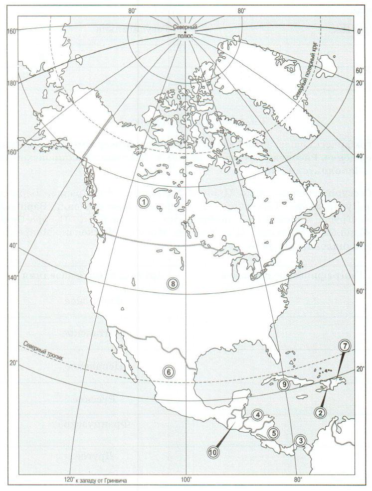 § 47. Население Северной Америки - Домогацких. 7 класс 2 часть. Рабочая тетрадь